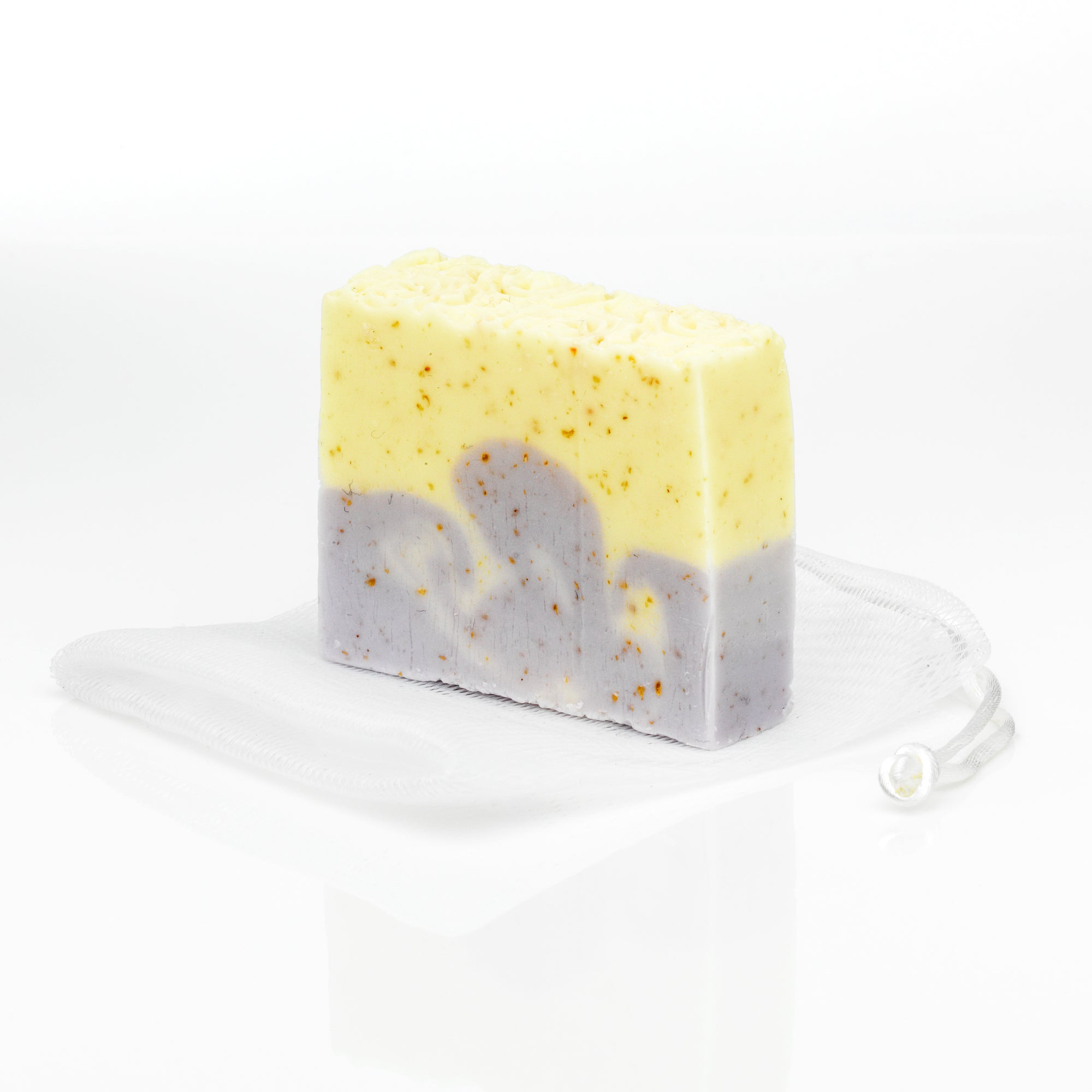 Lemon, Lavender and Eucalyptus Soap with Shea Butter & Oatmeal