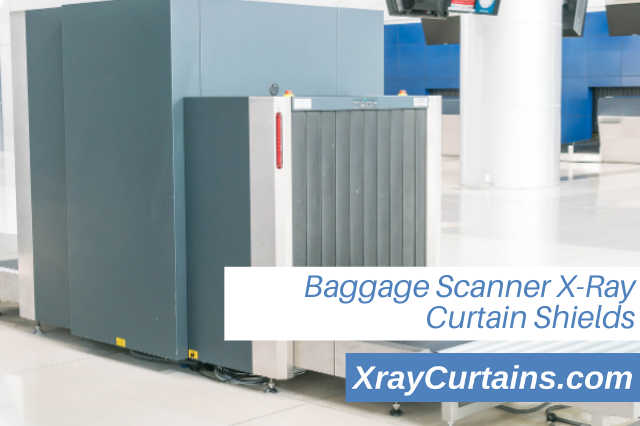 Baggage Scanner X-Ray Curtain Shields