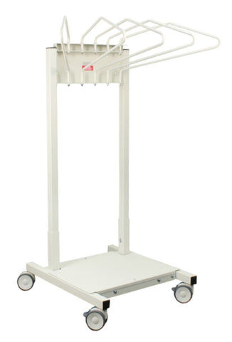Mobile Apron Rack with 5 Arms