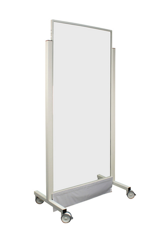 "Mobile Lead Barrier - 40"" Wide - Full Window"