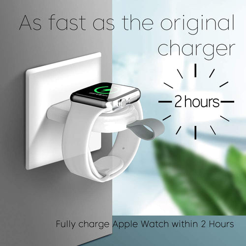 Portable USB Wireless Charger for Apple Watch.