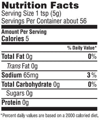 Roasted Garlic Country Mustard Nutrition Facts