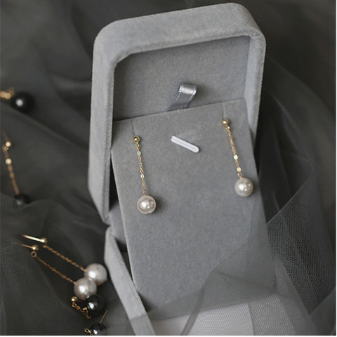 Luxury Gold Plated Pearl Drop Earring
