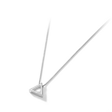Load image into Gallery viewer, S925 Triangle Chain Necklace Choker