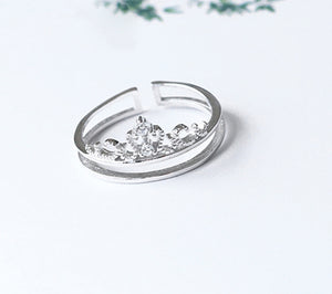 Crown Adjustable Ring