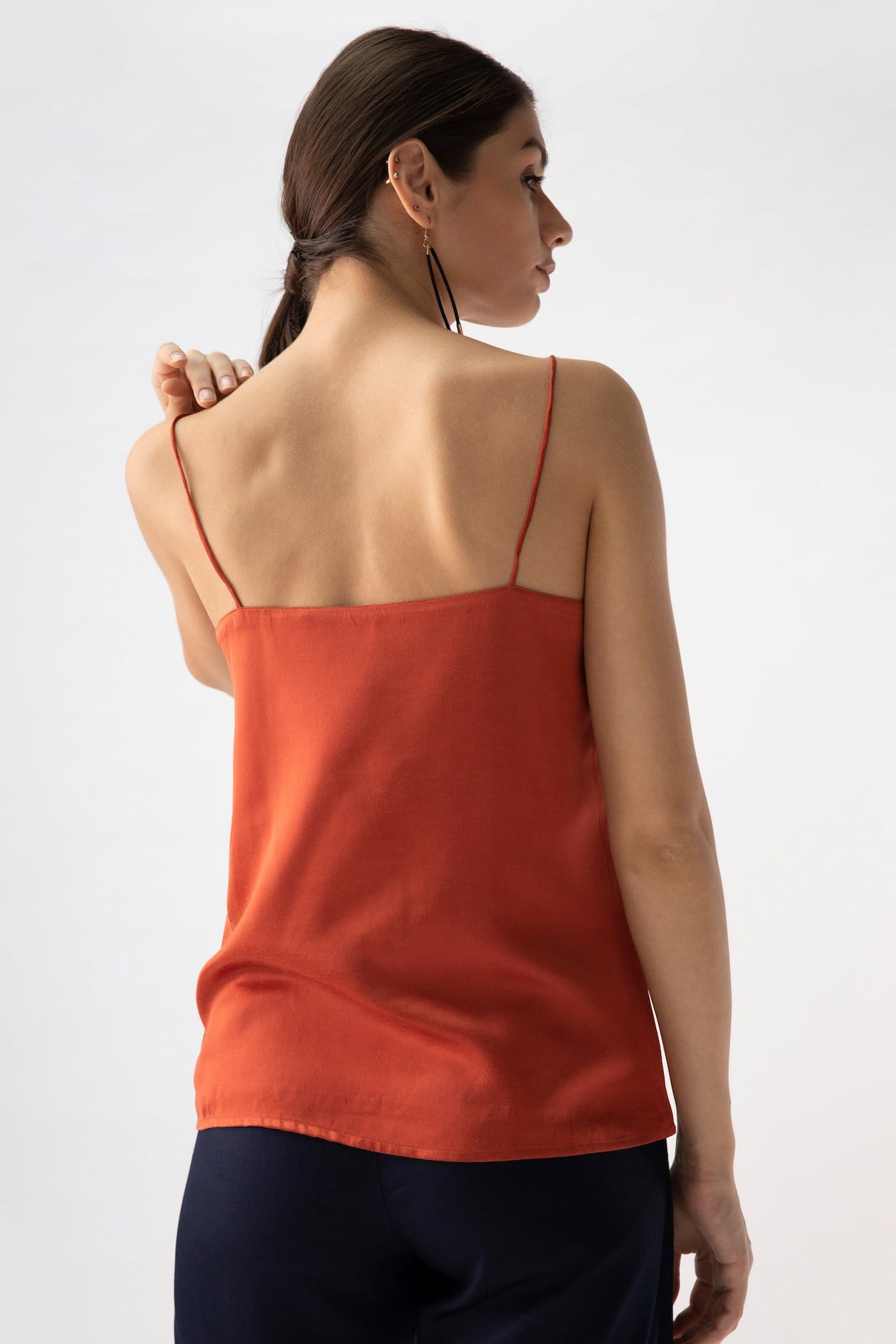 Oh Slip Top > Coral