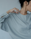 Uncollar Shirt | Grey