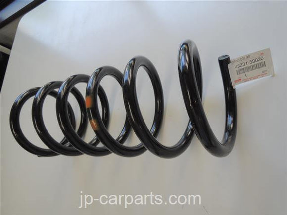 TOYOTA 48231-58020, SPRING, COIL, REAR LH - JP-CARPARTS