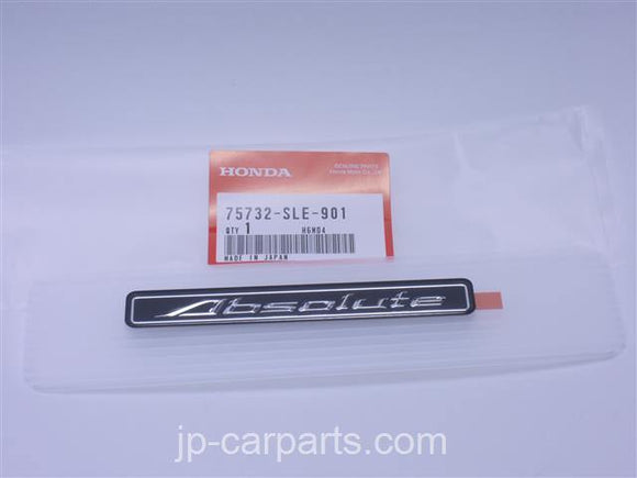 75732SLE901 HONDA EMBLEM ,SIDE (ABSOLUTE) - JP-CARPARTS