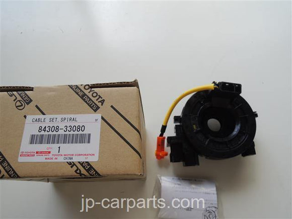 GENUINE TOYOTA 84308-33080 CABLE SUB-ASSY, SPIRAL 8430833080 - JP-CARPARTS