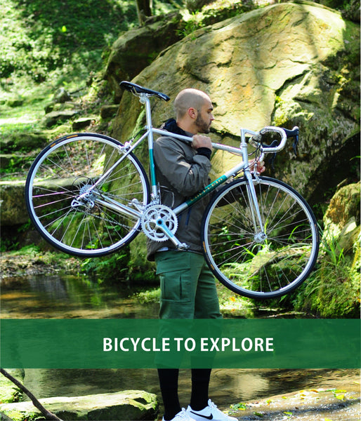 EXPLORE ALL KINDS OF POSSIBILITIES OF BICYCLES