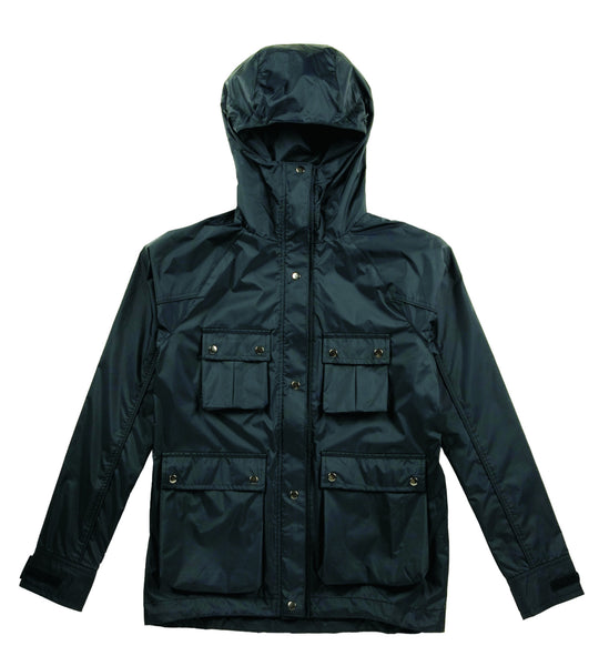 M's Military Style Weather Proof Jacket-Black