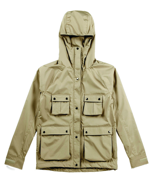M's Military Style Weather Proof Jacket-Khaki