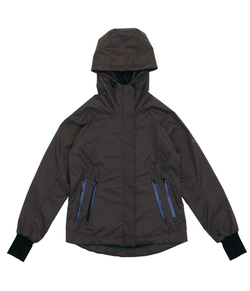 M's Double Zippers Pockets Weather Proof Jacket-Coffee
