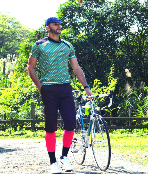 M's Classic Cycling Jersey - Red Pattern