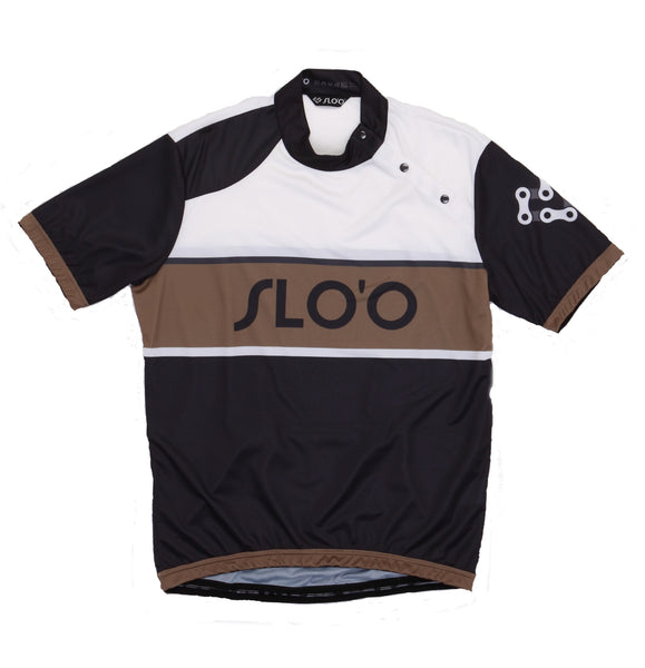 W's Classic Cycling Jersey - Retro Gold
