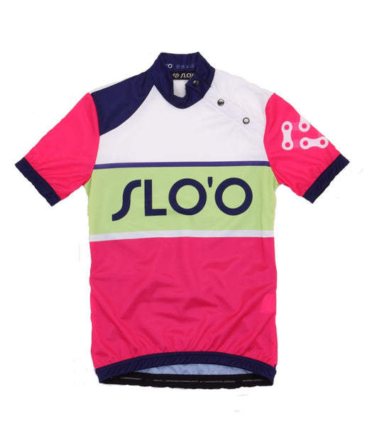 W's Classic Cycling Jersey - Retro Purple