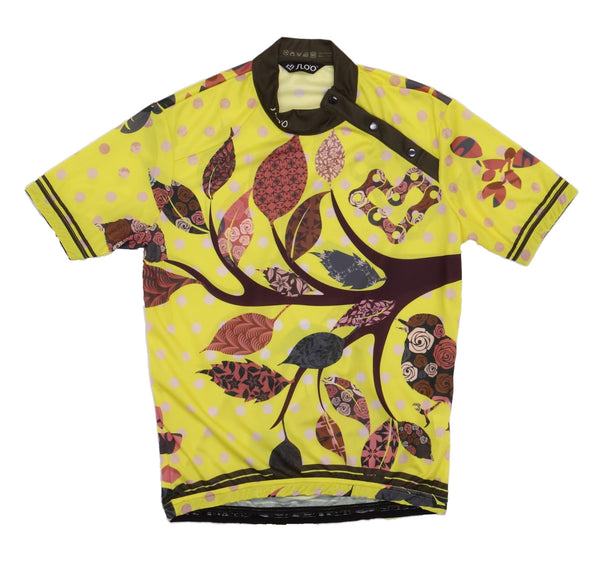 M's Classic Cycling Jersey -Nature YELLOW