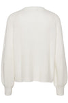 Menorca Knit Cardigan i Off White