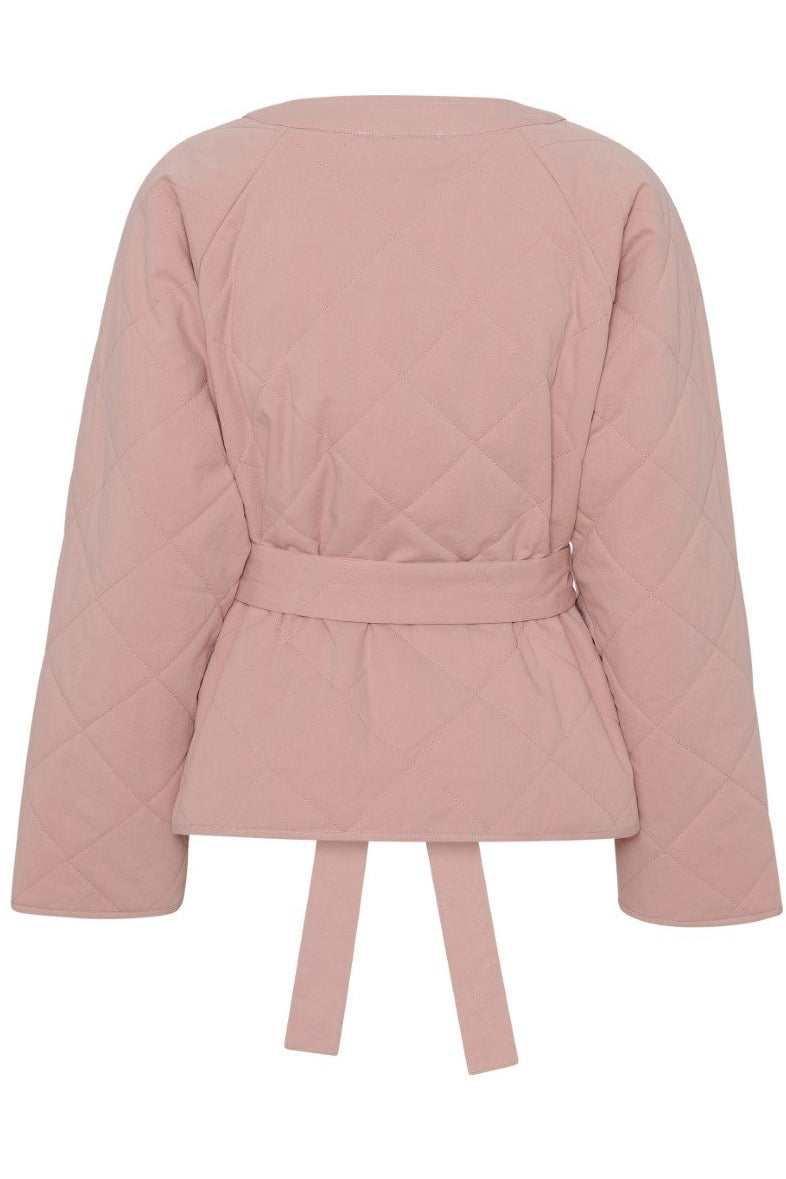 Orata Quilted Jacket i Powder