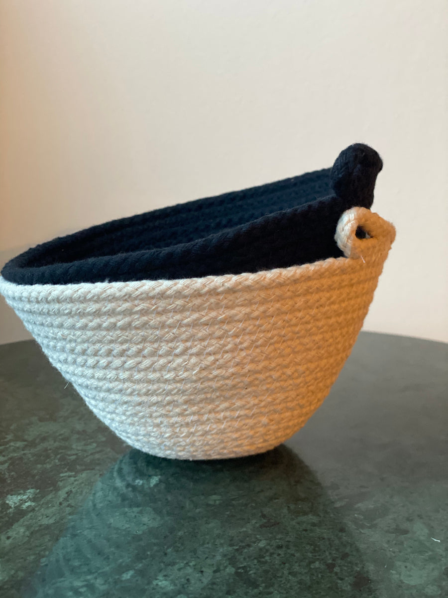 Knotsy Brighton - Noir Cotton Everyday Bowl