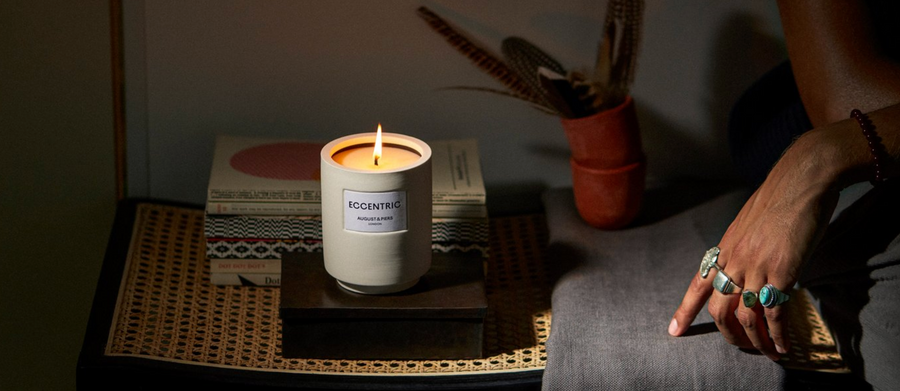 AUGUST&PIERS - Scented Candle, The Debut Collection, Eccentric