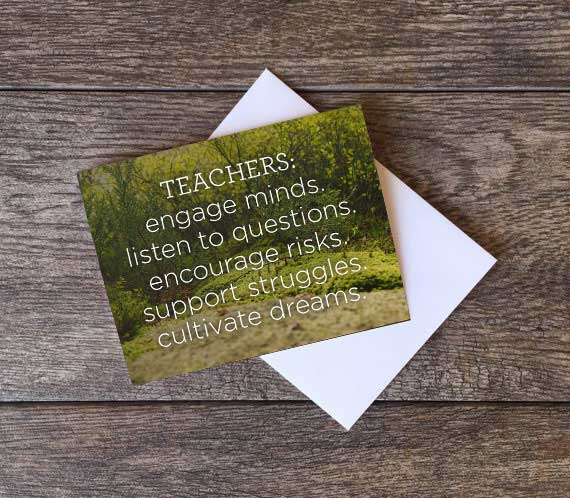 Teacher Appreciation Day is May 5th
