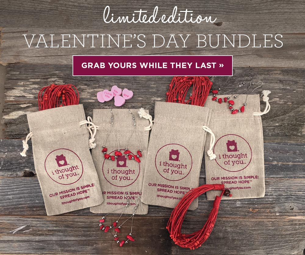 Be our Fair Trade Valentine