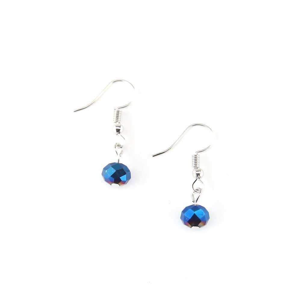 Aloo Earrings - Cobalt