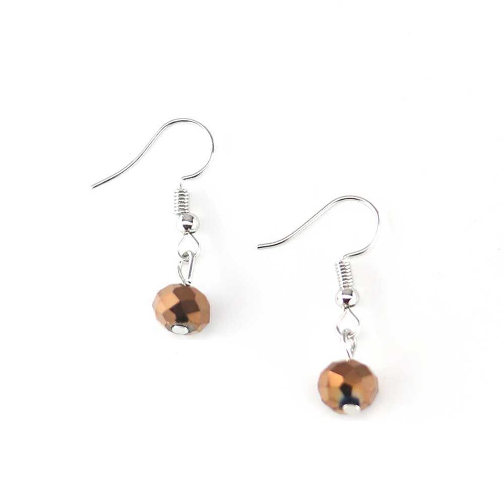 Aloo Earrings - Copper