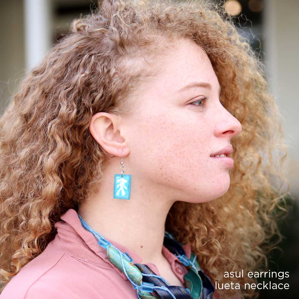 Asul Earrings
