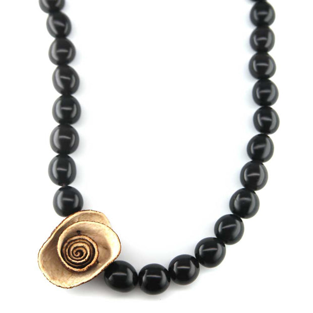 Belle Necklace - Ebony