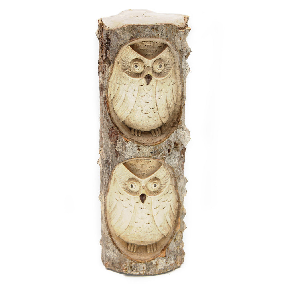 Burung Owl Carving