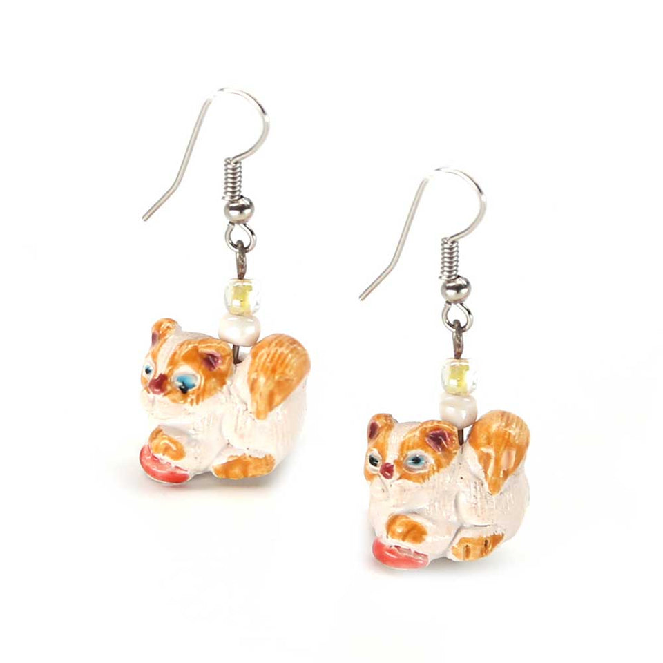 Lucille Cat Earrings