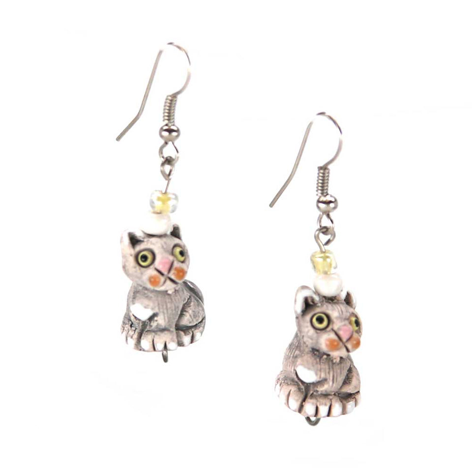 Riley Cat Earrings