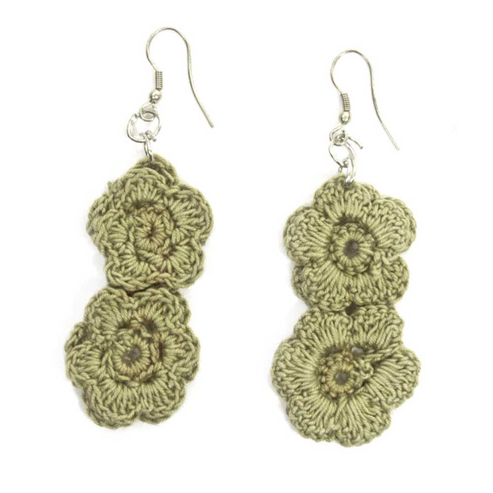 Chani Earrings - Sage