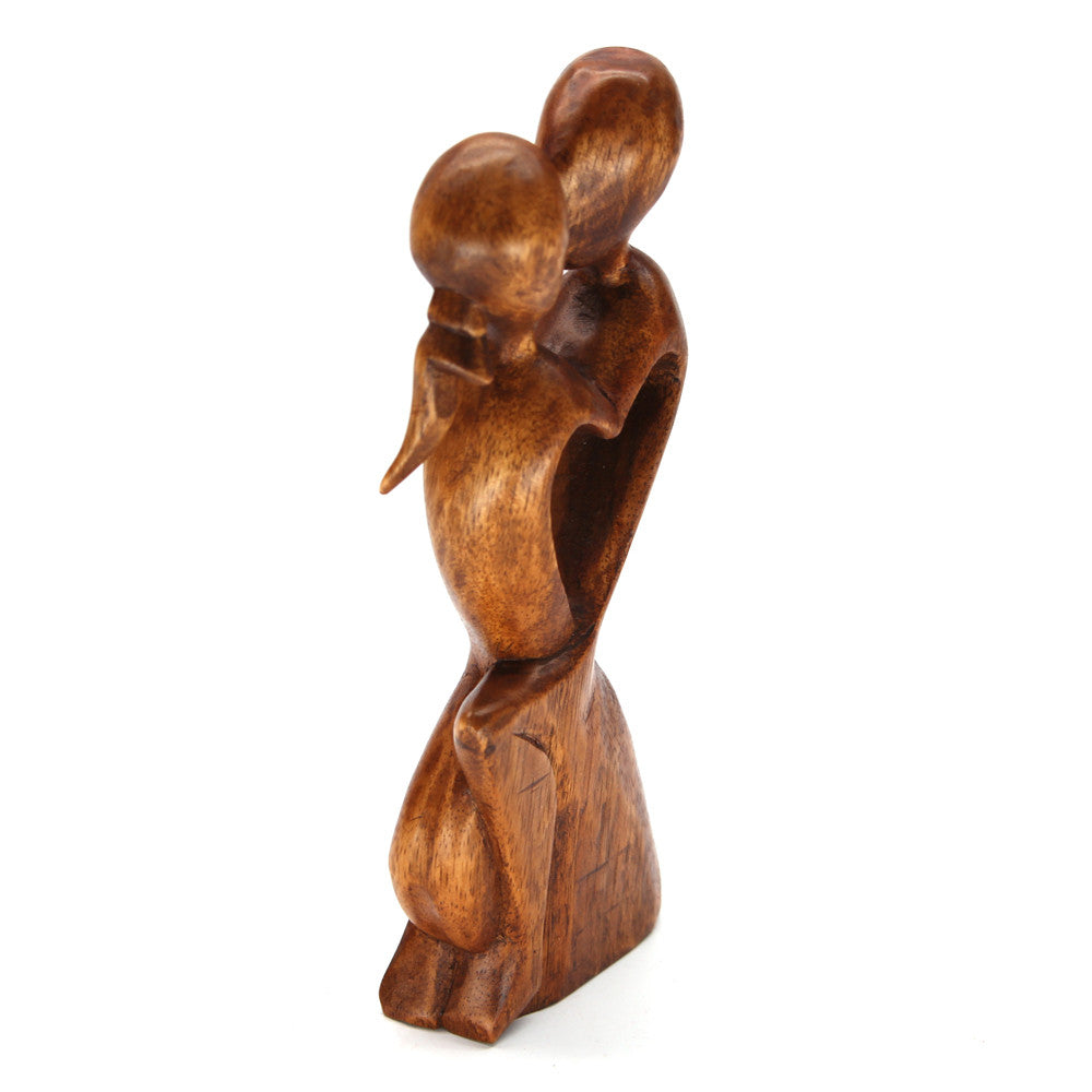 Cinta Embrace Wood Carving