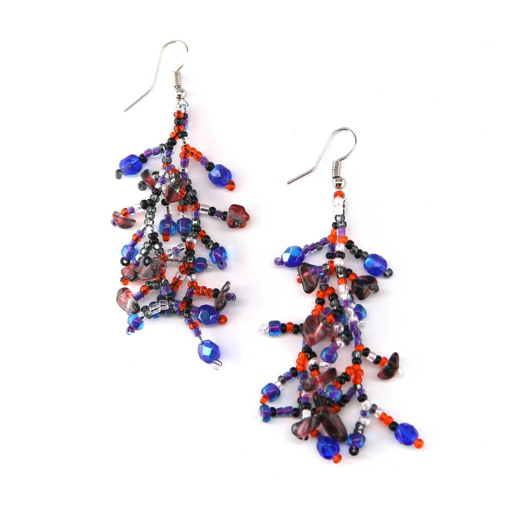 Coralino Earrings - Cherry Berry