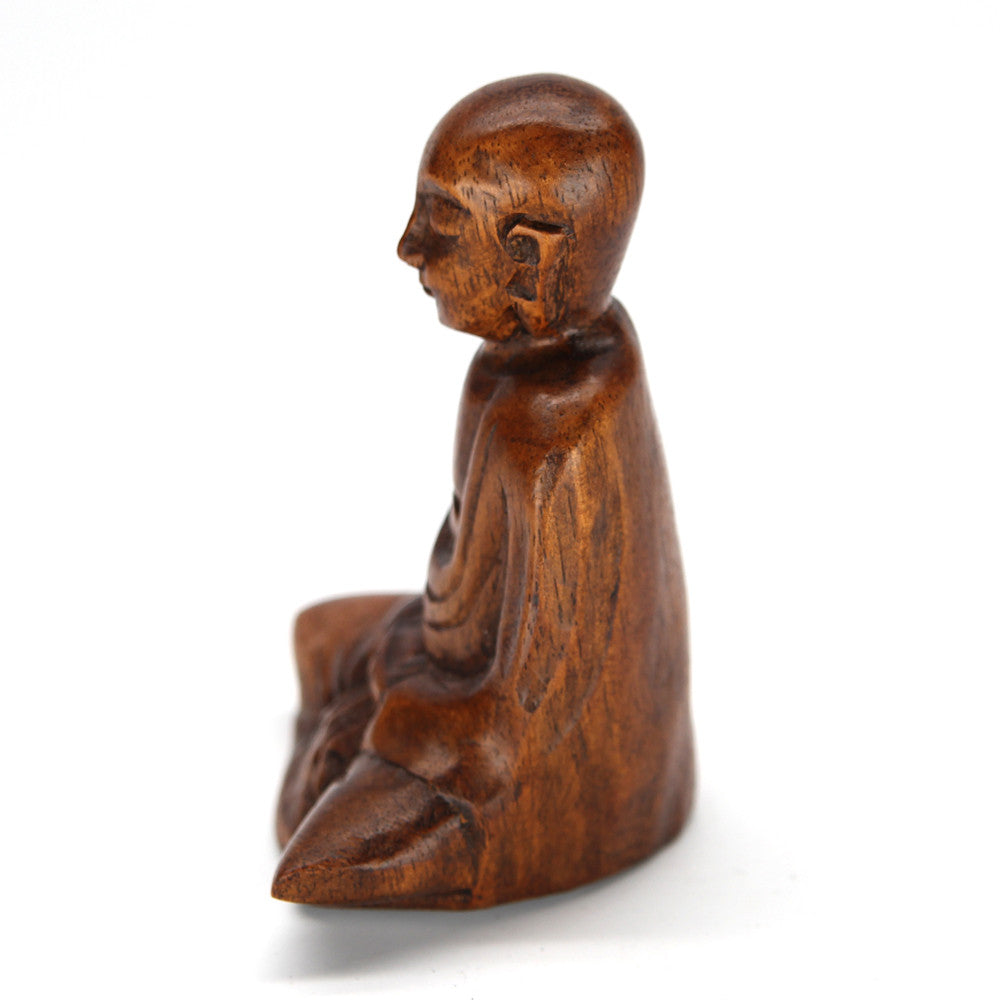 Damai Buddha Wood Carving
