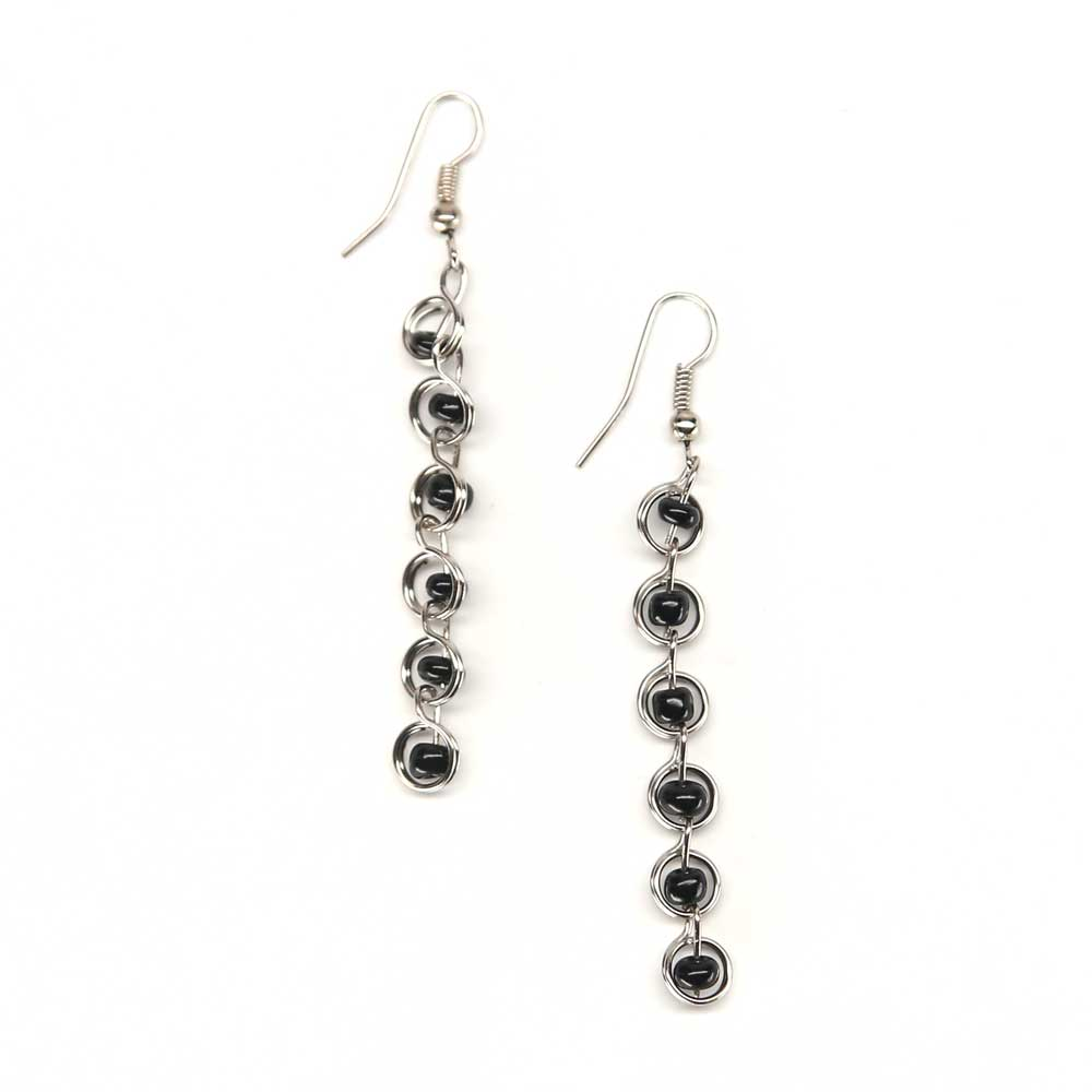 Donda Earrings - Ebony