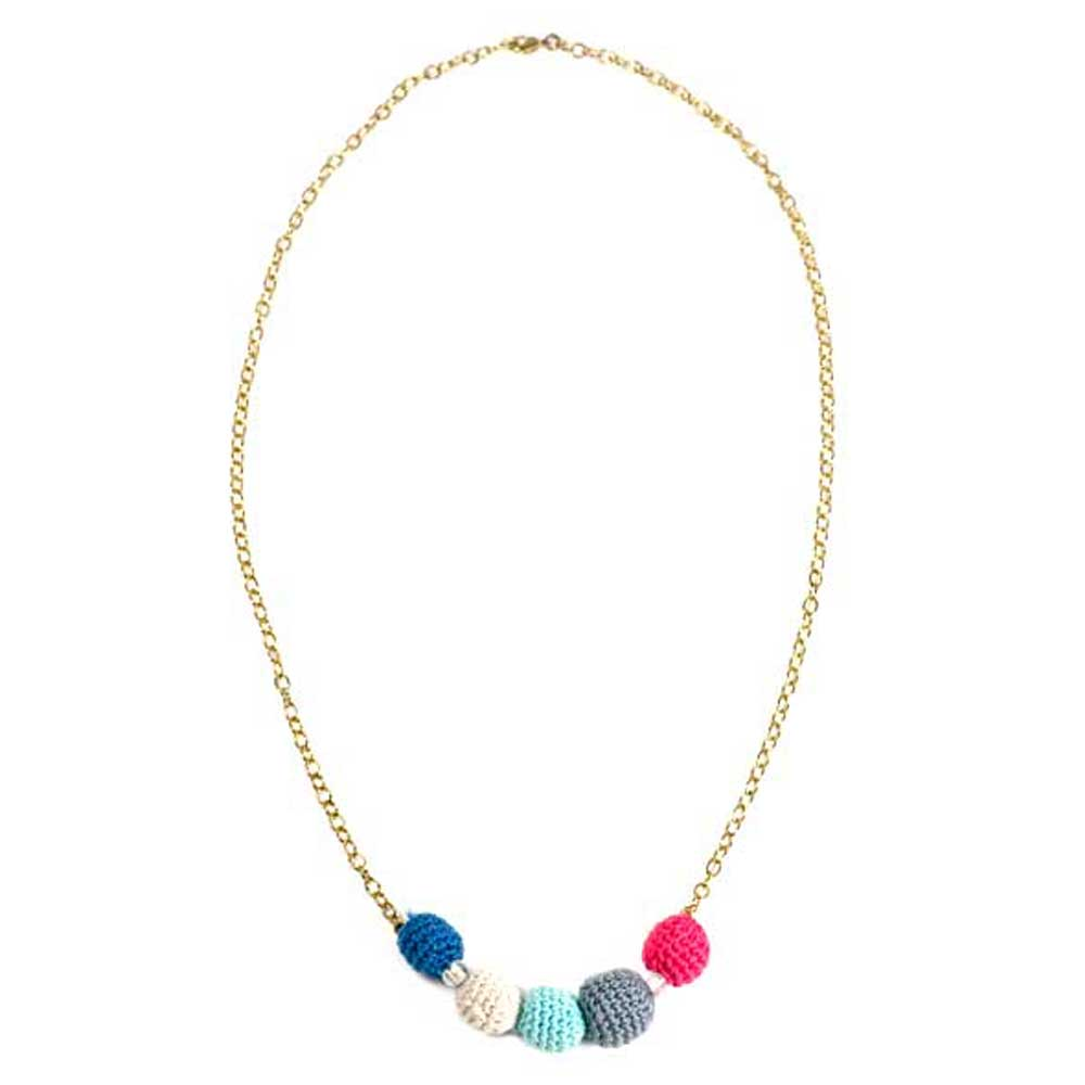 Endi Necklace - Magenta