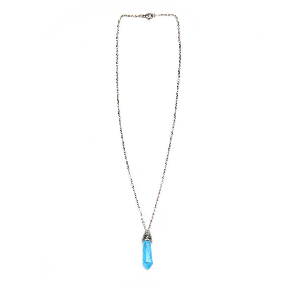 Facet Drop Necklace