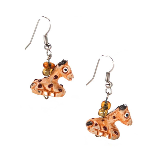 Nora Giraffe Earrings