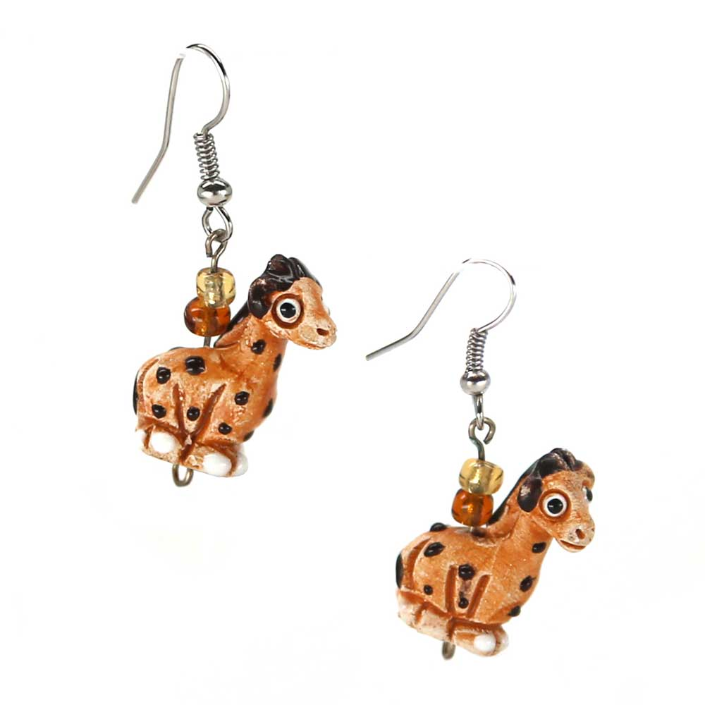 Morgan Giraffe Earrings