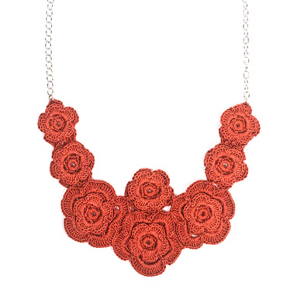 Ilana Necklace - Crimson