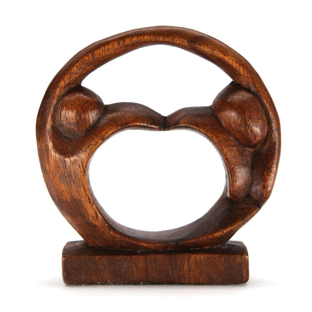 Jiwa Heart and Soul Wood Carving