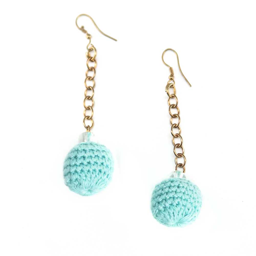 Khata Earrings - Sky