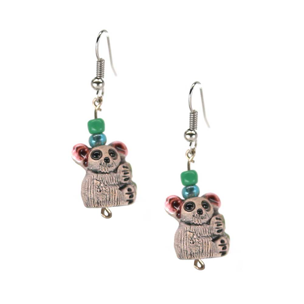 Flora Koala Earrings