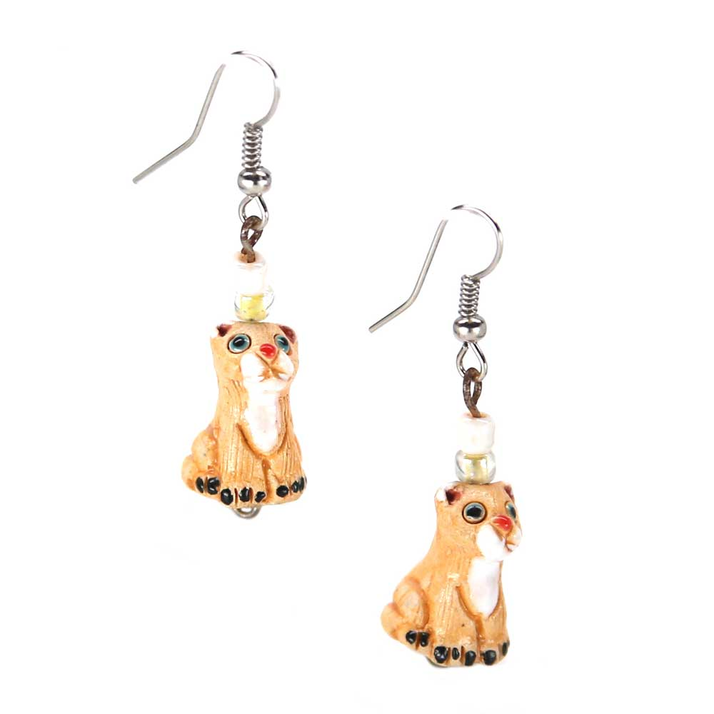 Adana Lioness Earrings