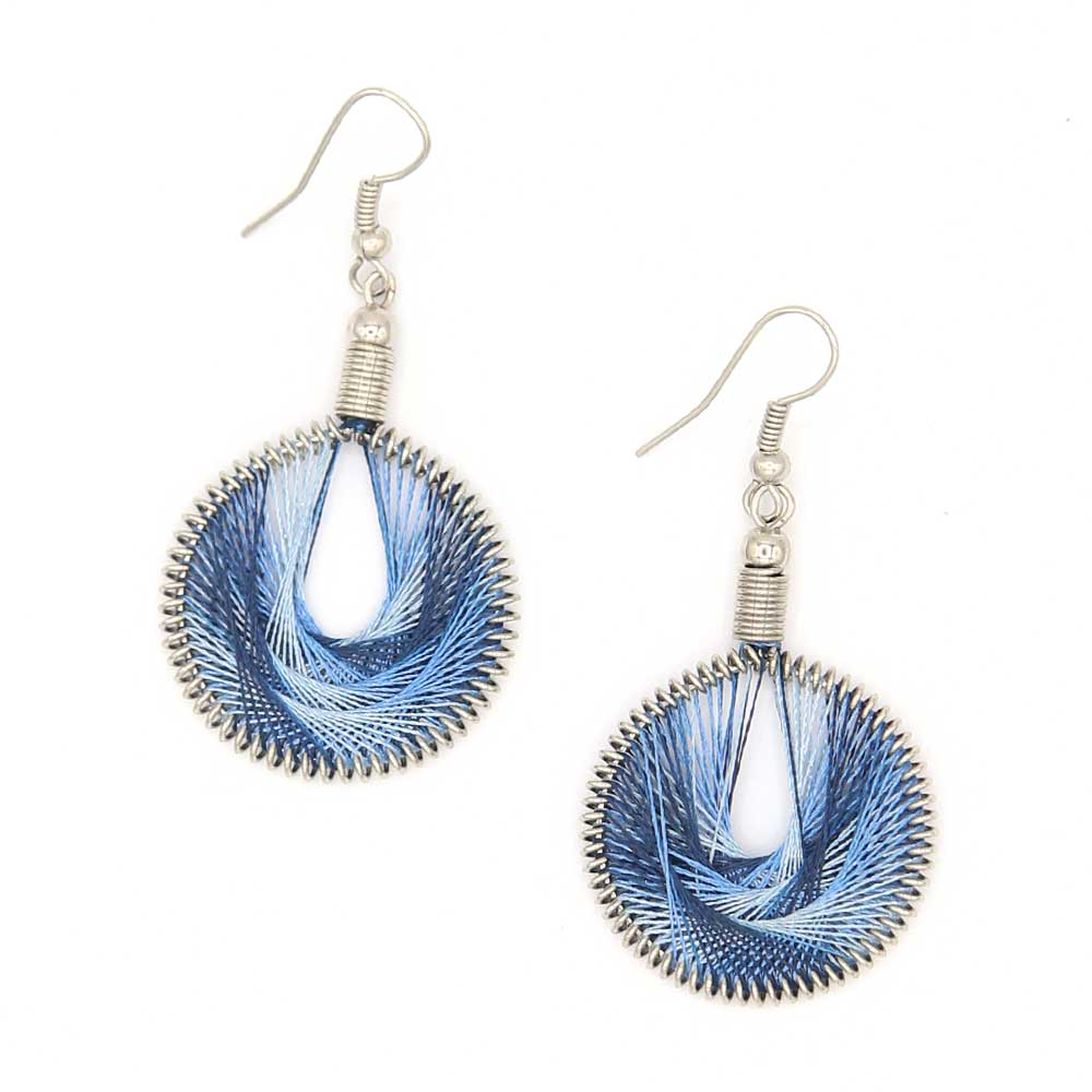 Marca Earrings - Cobalt